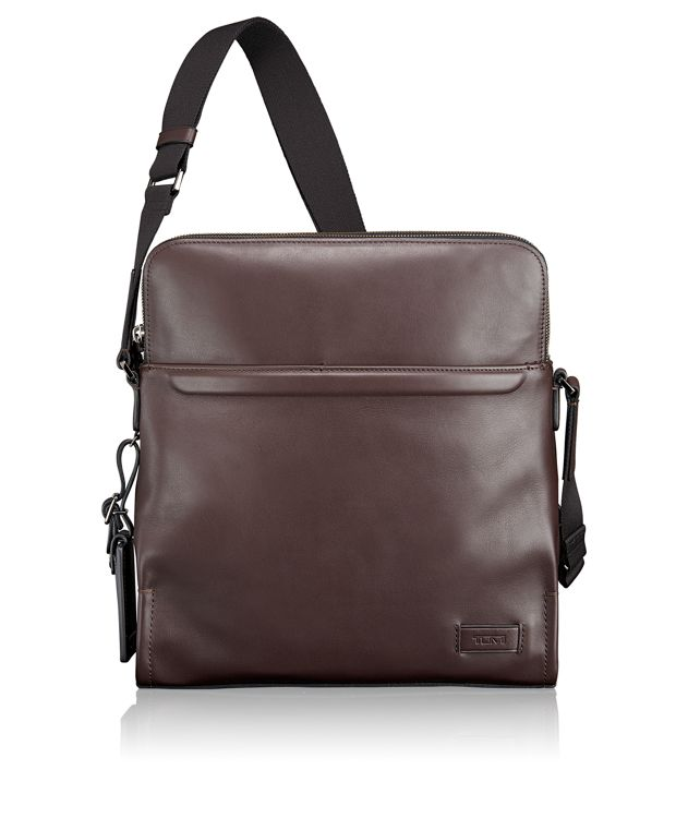 Stratton Crossbody in Brown