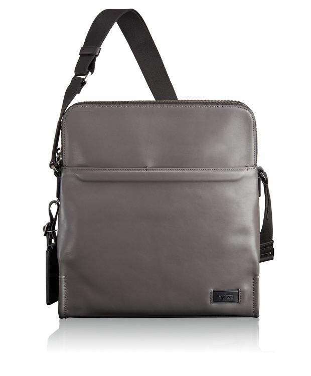 Stratton Crossbody in Grey