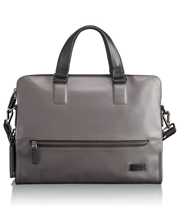 Taylor Portfolio Brief in Grey
