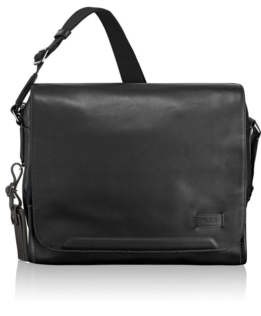 Davenport Messenger in Black
