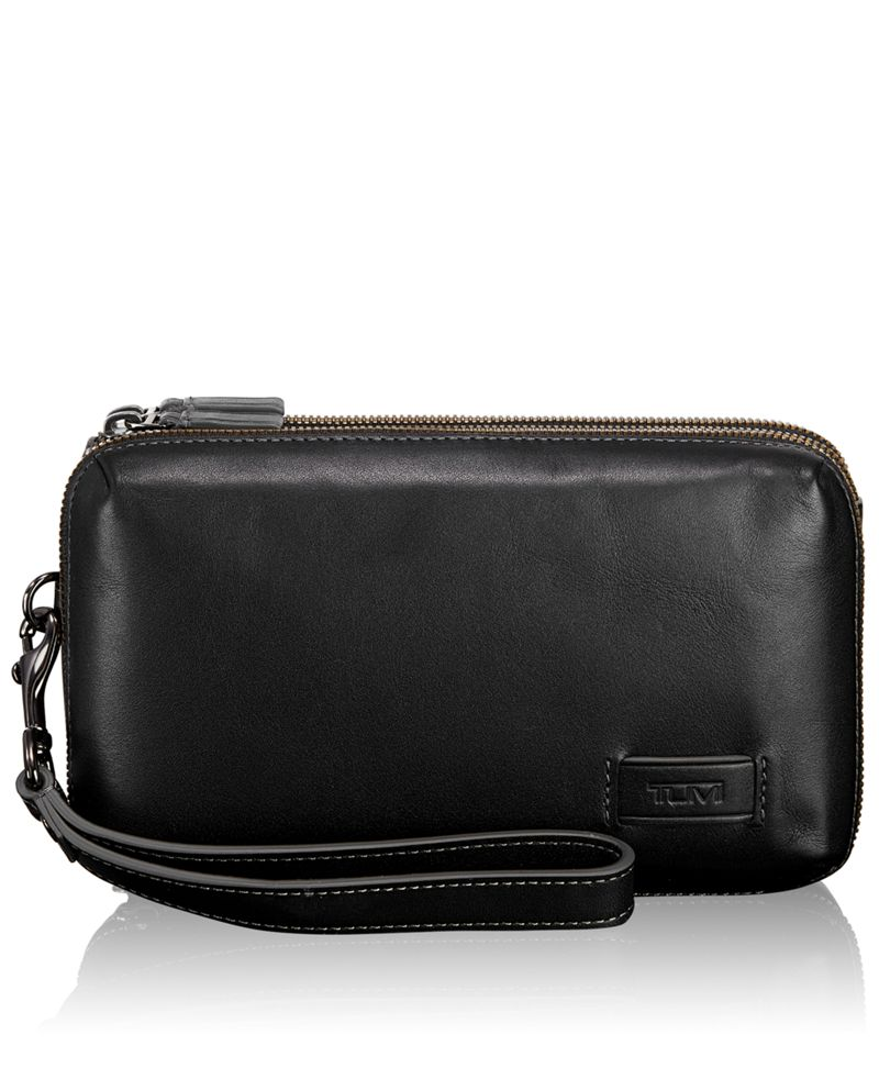 Halstead Triple Zip Clutch