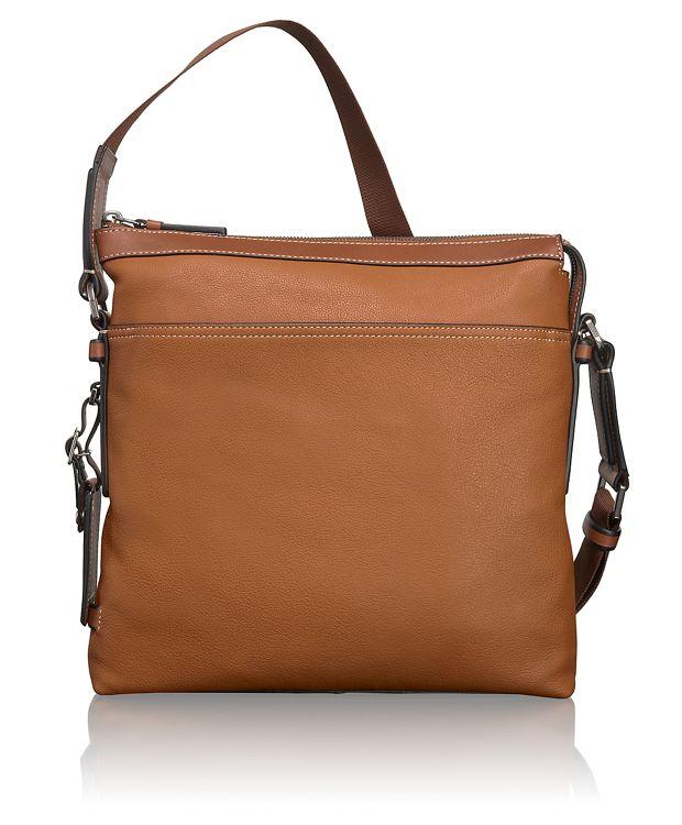Bartlett Leather Crossbody in Tan