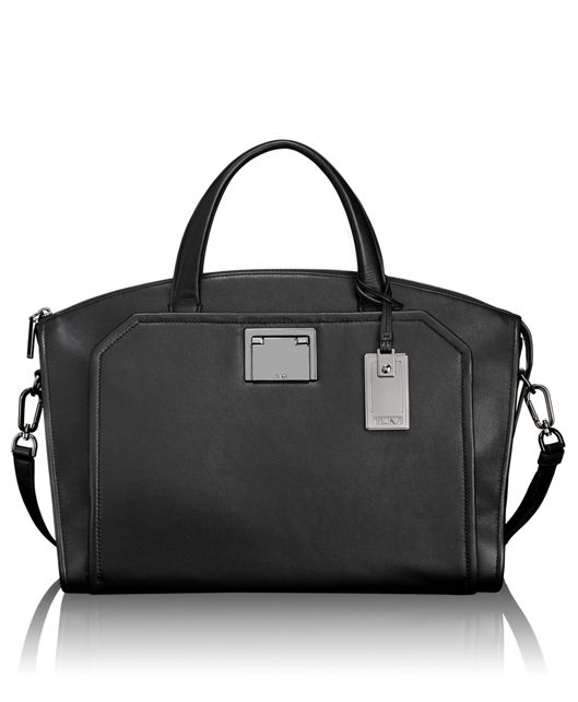 Eva Satchel in Black