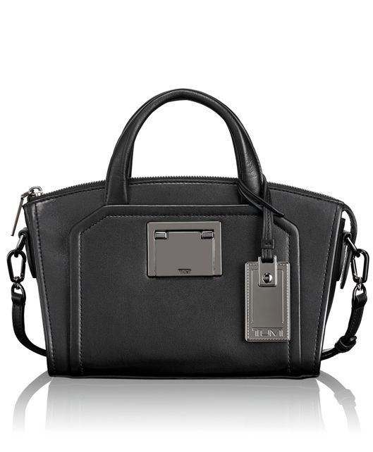 Eva Mini Satchel in Black