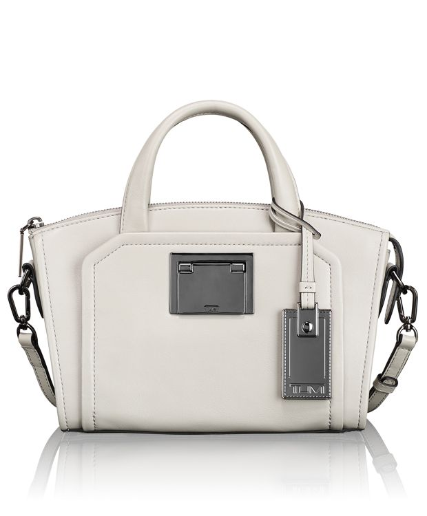 Eva Mini Satchel in Grey