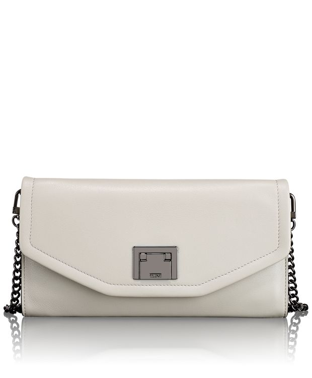 Mia Clutch in Grey