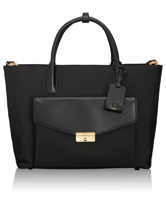 Small Tanya Tote in Black