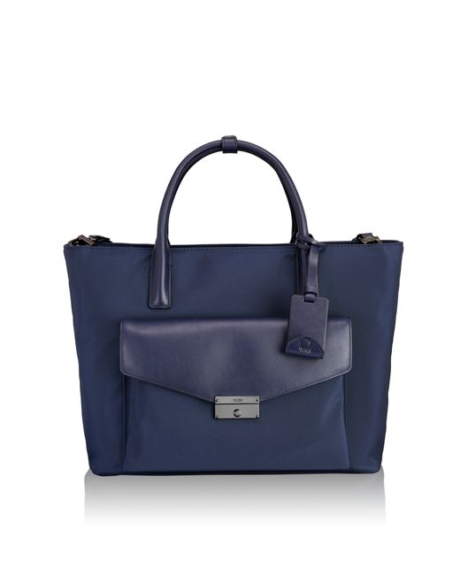 Small Tanya Tote in Indigo