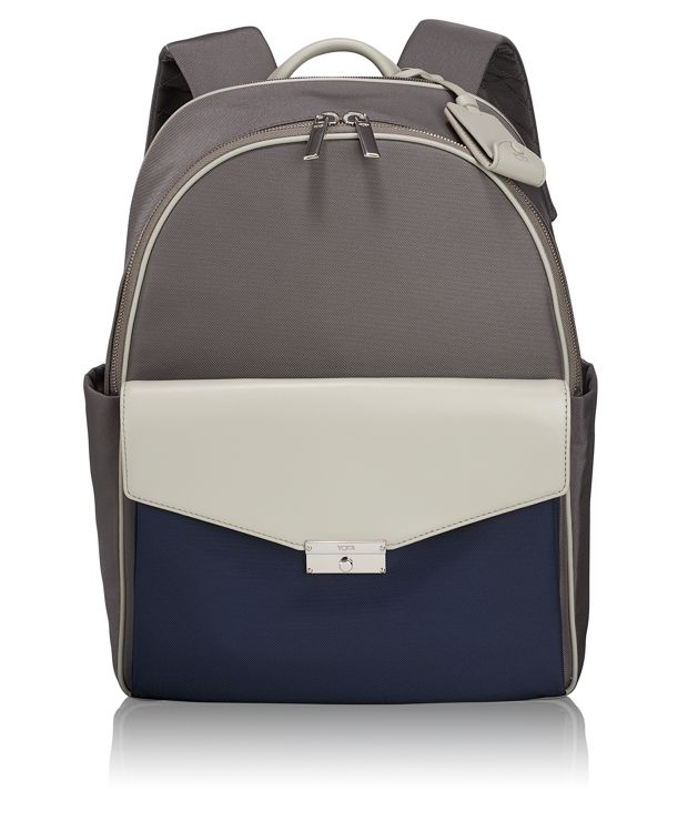Small Portola Backpack in Grey/Blue Spectator