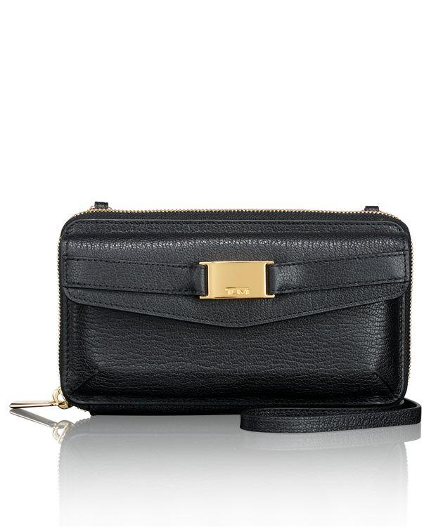 Springdale Phone Wallet in Black