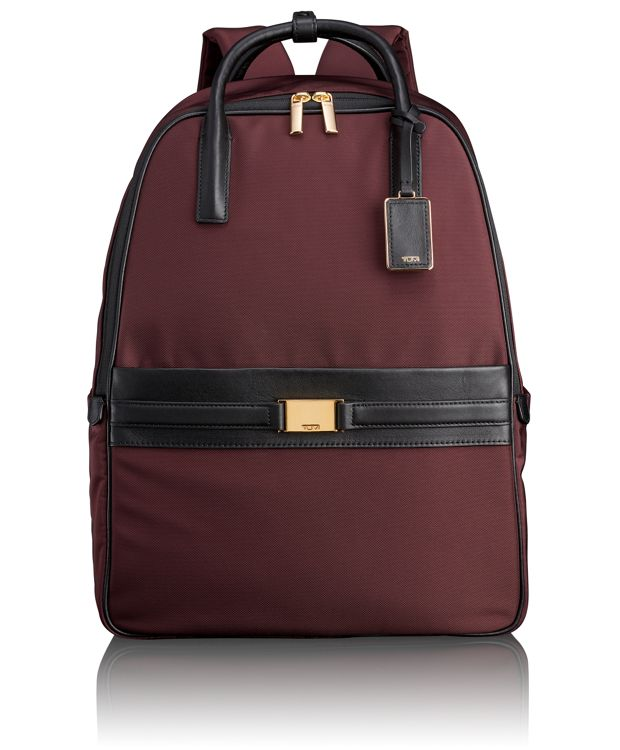 Paterson Convertible Backpack in Bordeaux