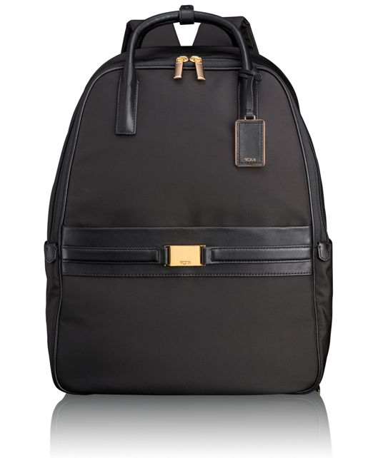 Paterson Convertible Backpack in Black