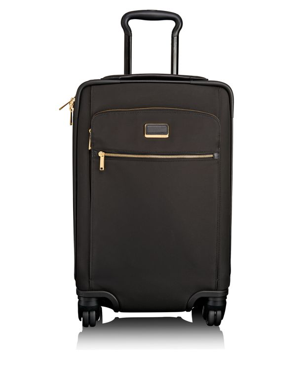 Carla International Expandable 4 Wheeled Carry-On in Black