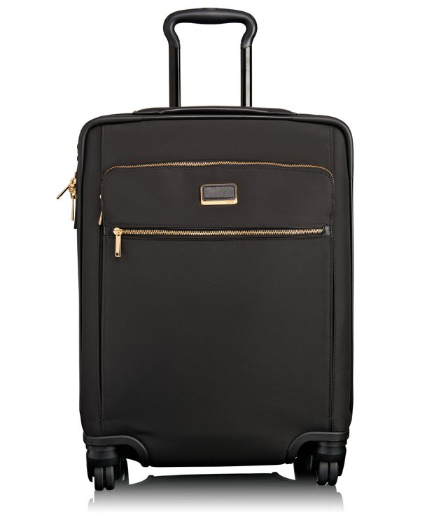 Sophie Continental Expandable 4 Wheeled Carry-On in Black