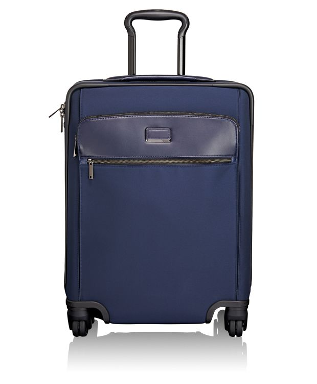 Sophie Continental Expandable 4 Wheeled Carry-On in Indigo