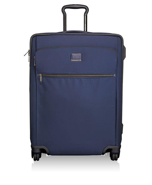 Elisa Short Trip Expandable 4 Wheeled Packing Case in Indigo