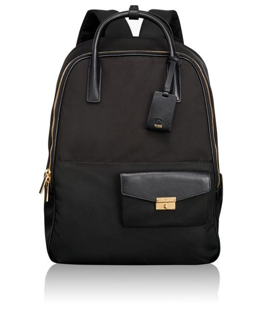 Portola Convertible Backpack in Black
