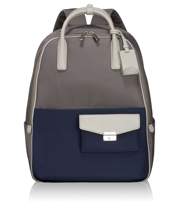 Portola Convertible Backpack in Grey/Blue Spectator