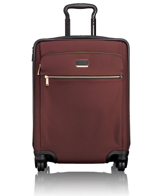 Alex Continental Expandable 4 Wheeled Carry-On in Bordeaux