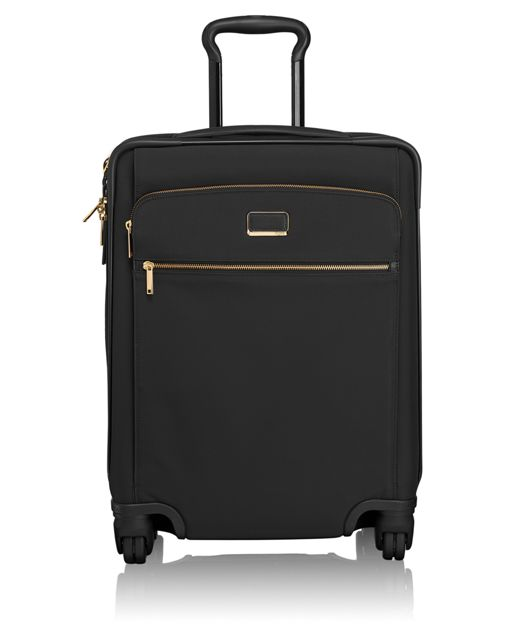 Alex Continental Expandable 4 Wheeled Carry-On in Black