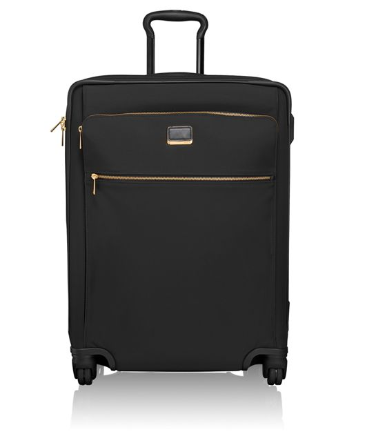 Jess Short Trip 4 Wheeled Packing Case in Black