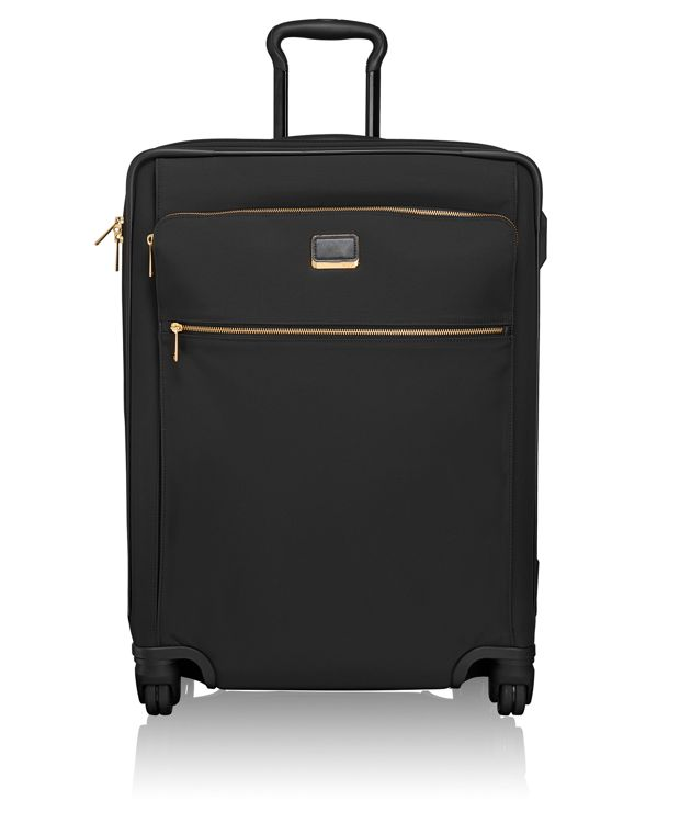 Jess Short Trip Expandable 4 Wheeled Packing Case in Black