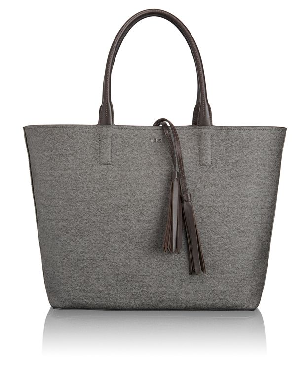 Niki Tote in Earl Grey