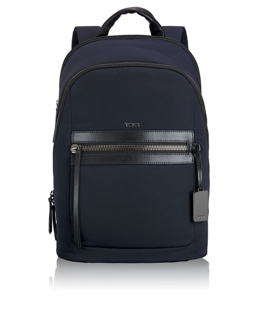 Dean Large Backpack in Navy
