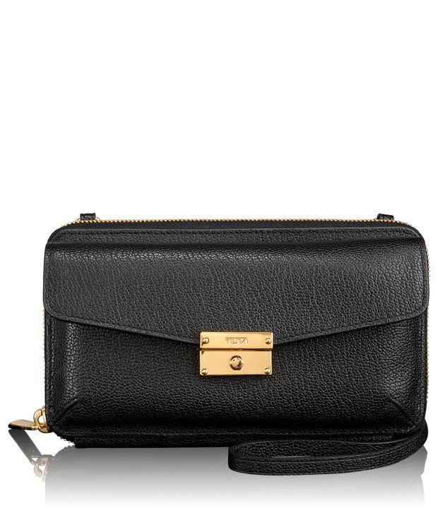 Stockton Phone Wallet in Black