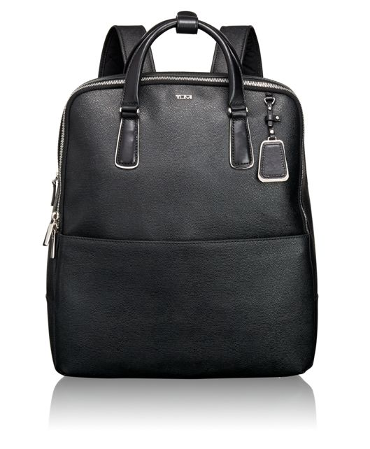 Olivia Convertible Backpack in Black