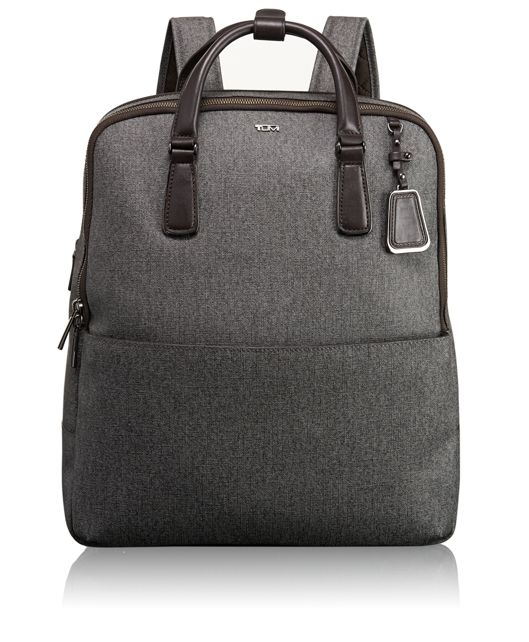 Olivia Convertible Backpack in Earl Grey