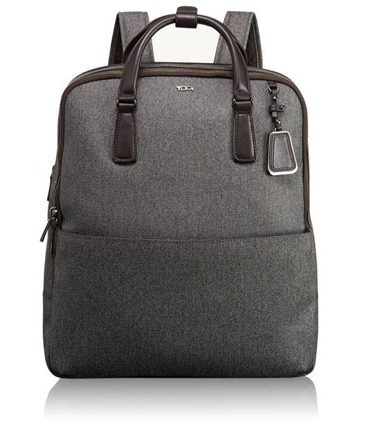 Olivia Convertible Backpack in Earl Grey