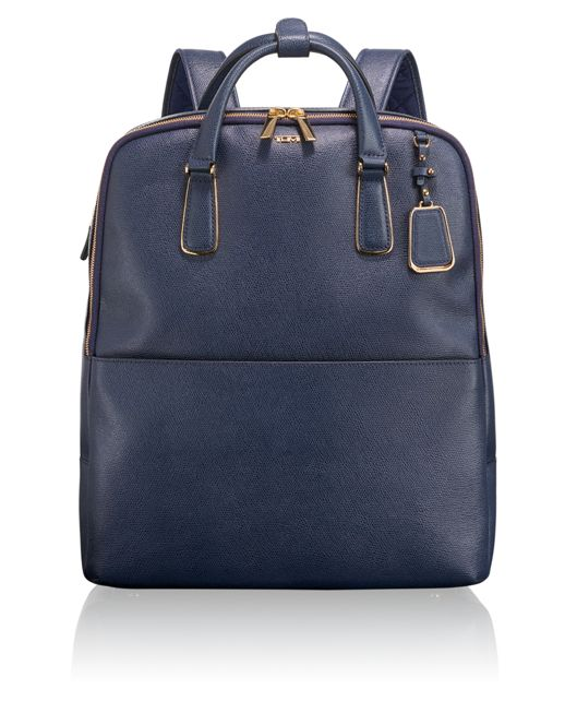 Olivia Convertible Backpack in Moroccan Blue