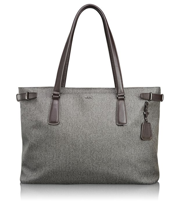 Viera Business Tote in Earl Grey