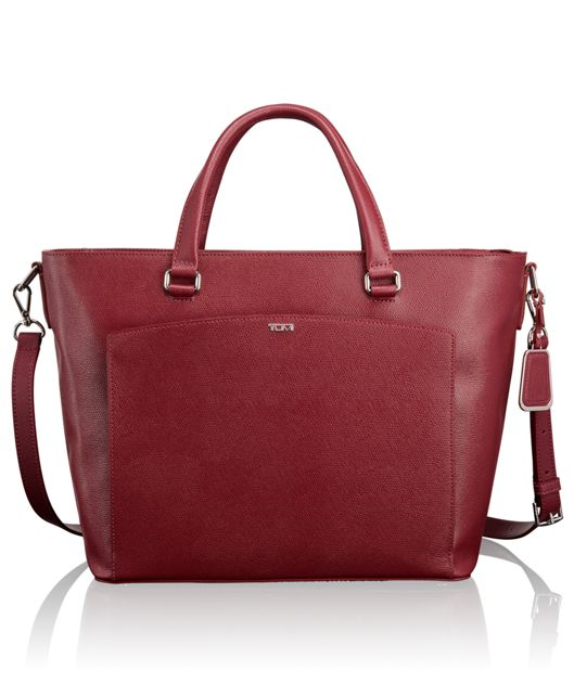 Camila Tote in Cranberry