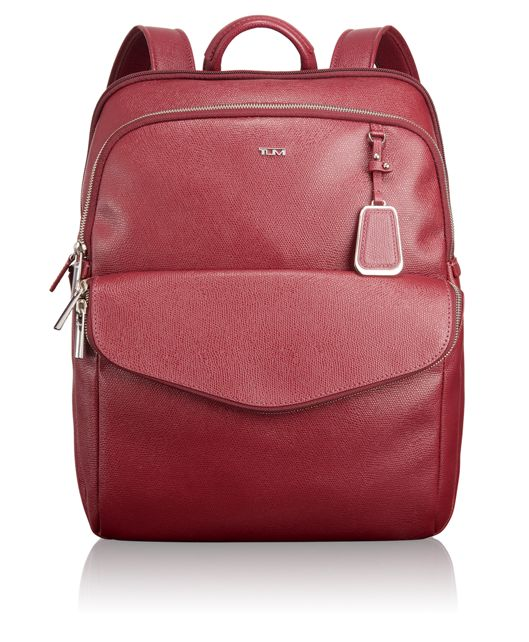 Harlow Backpack in Cranberry