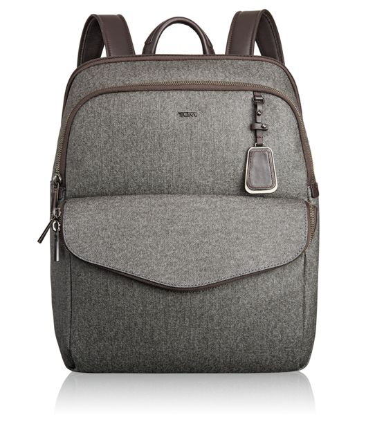 Harlow Backpack in Earl Grey