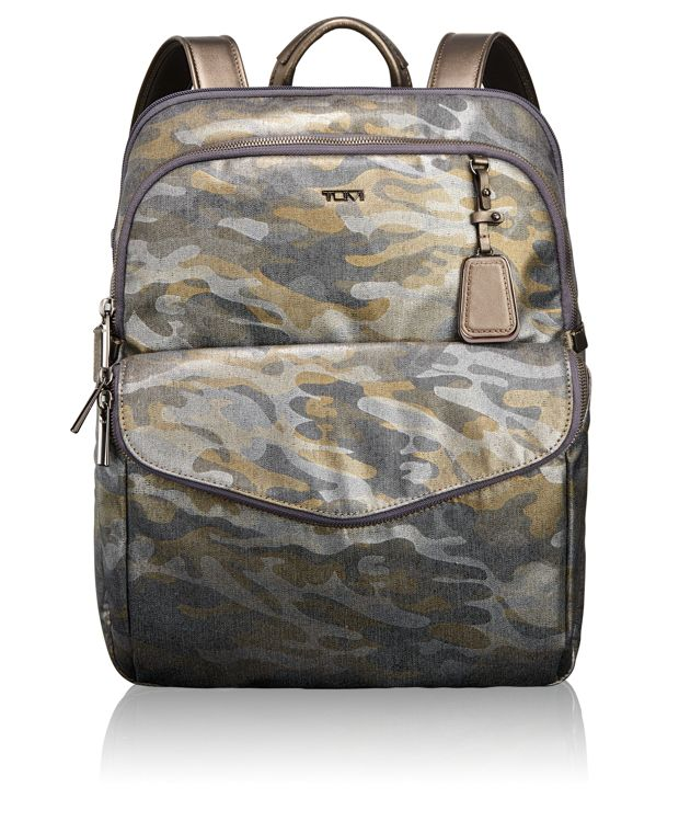 Harlow Backpack in Metallic Camo