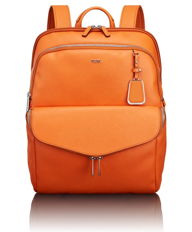 Harlow Backpack in Orange