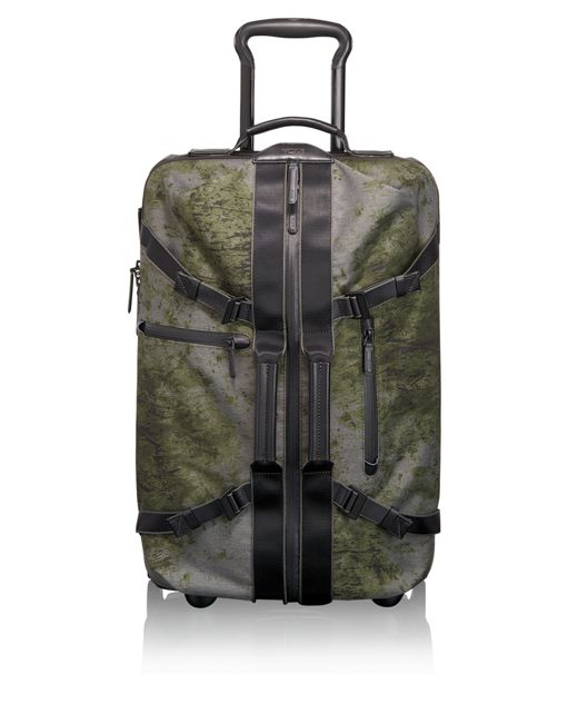 Linden International 2 Wheeled Carry-On in FOREST PRINT