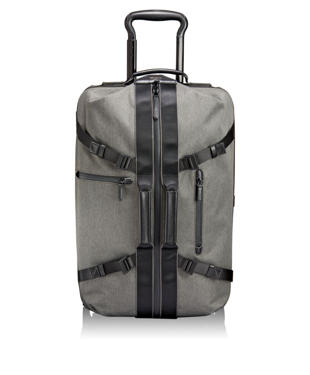 Linden International 2 Wheeled Carry-On in Grey