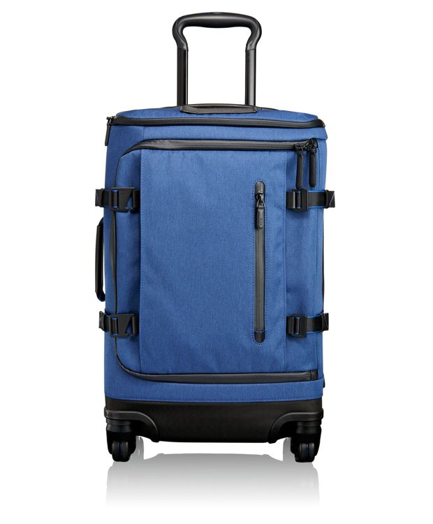 Gardner International 4 Wheeled Carry-On in Blue