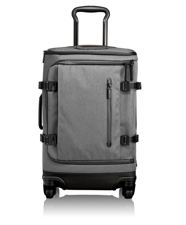 Gardner International 4 Wheeled Carry-On in Grey