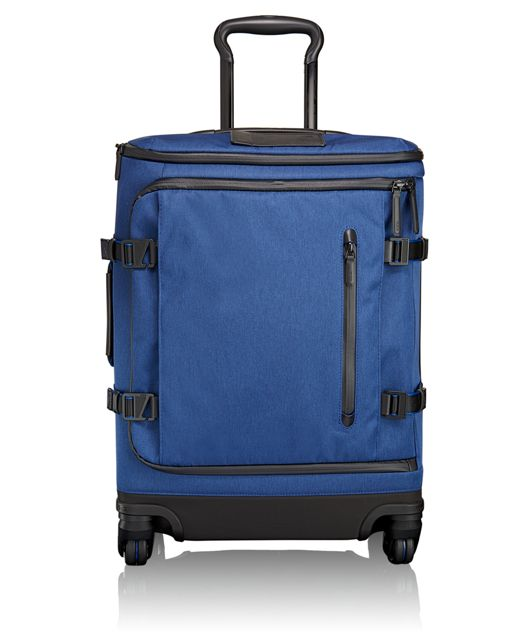 Edgewood Continental 4 Wheeled Carry-On in Blue