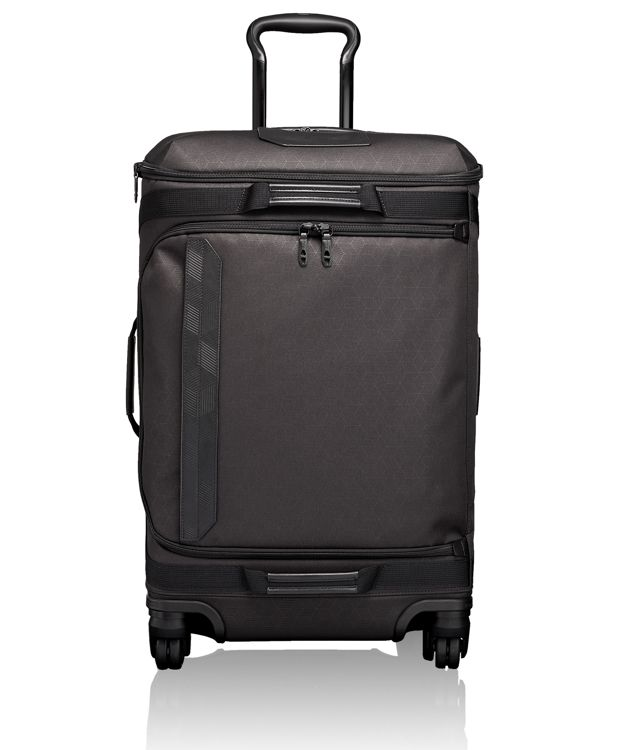 4 Wheeled Expandable Short Trip Packing Case in Black