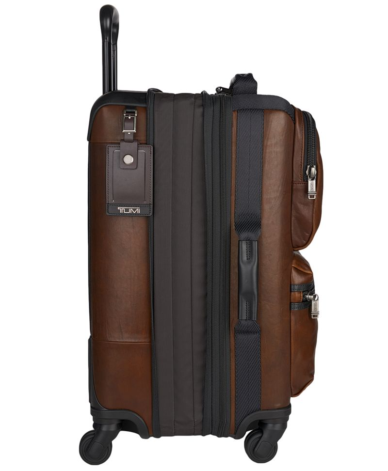 Kirtland International Expandable Leather Carry-On - Alpha Bravo ...