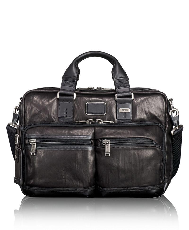 Andersen Slim Commuter Leather Brief