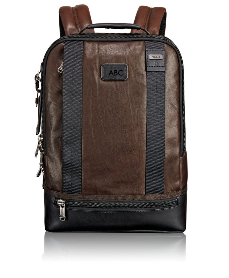Dover Leather Backpack - Alpha Bravo | TUMI United States