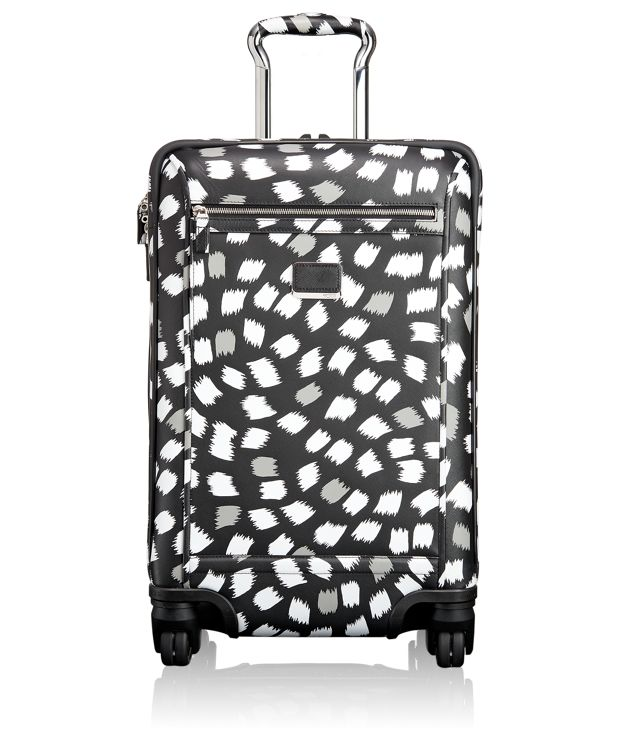 Osborne 4 Wheeled International Leather Carry-On in FUKURO PRINT
