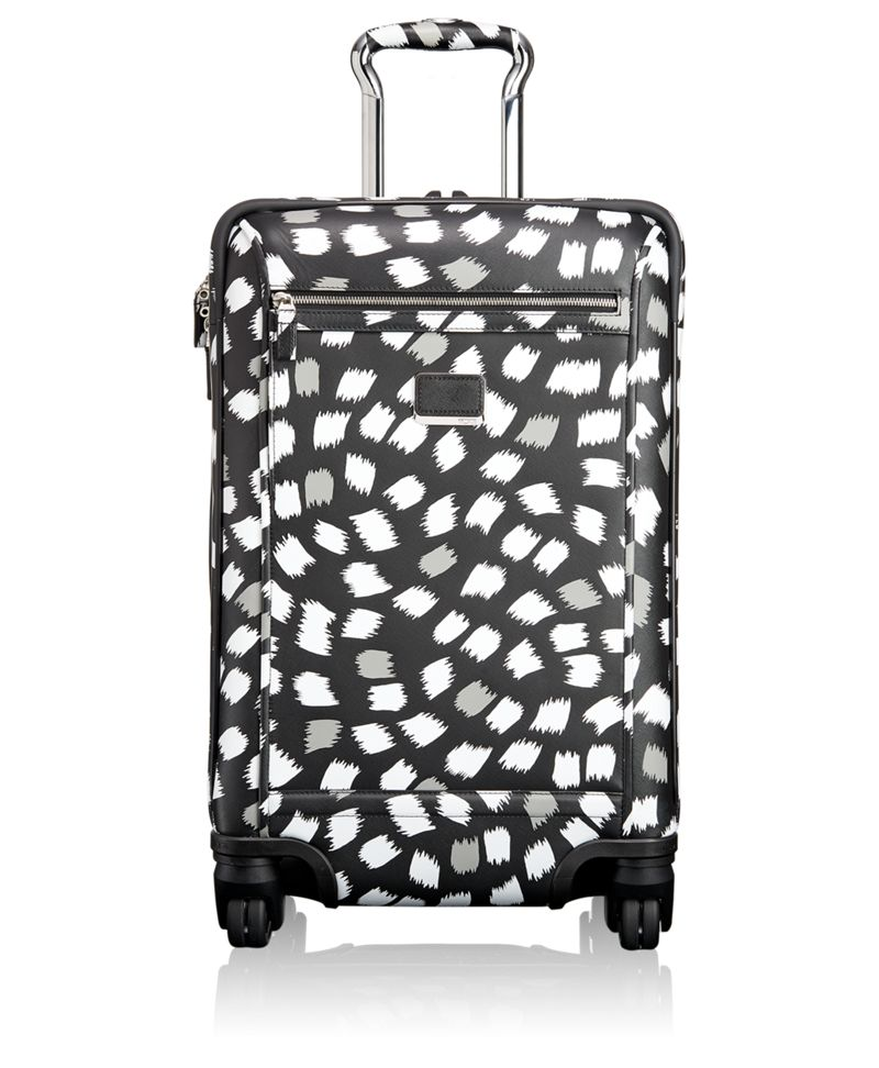 Osborne 4 Wheeled International Leather Carry-On